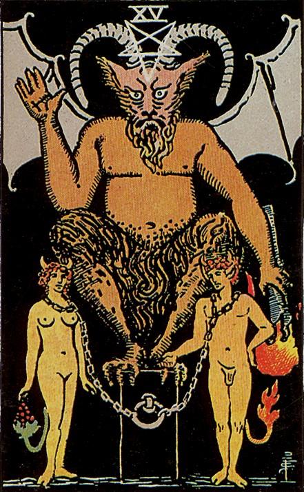 Дьявол состоит из сексуальных извращений венерических
